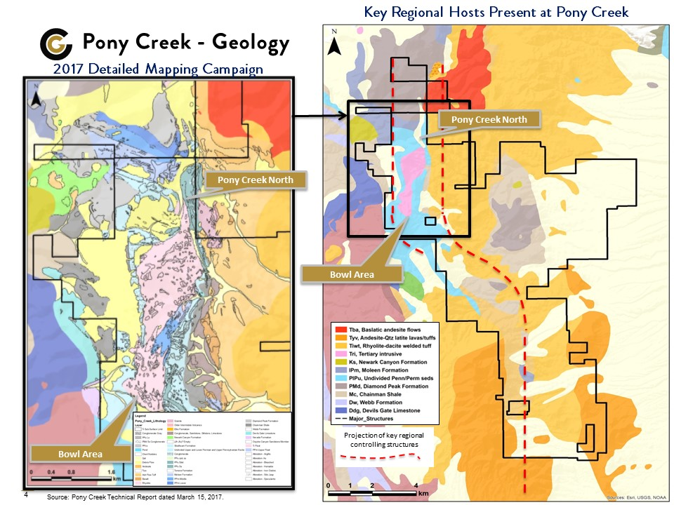 Pony Creek Regional Map